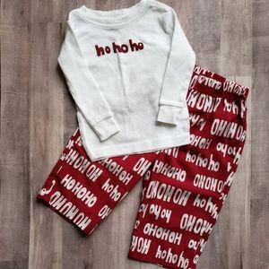 Baby Gap 2 piece Christmas Pajama set 6-12 month